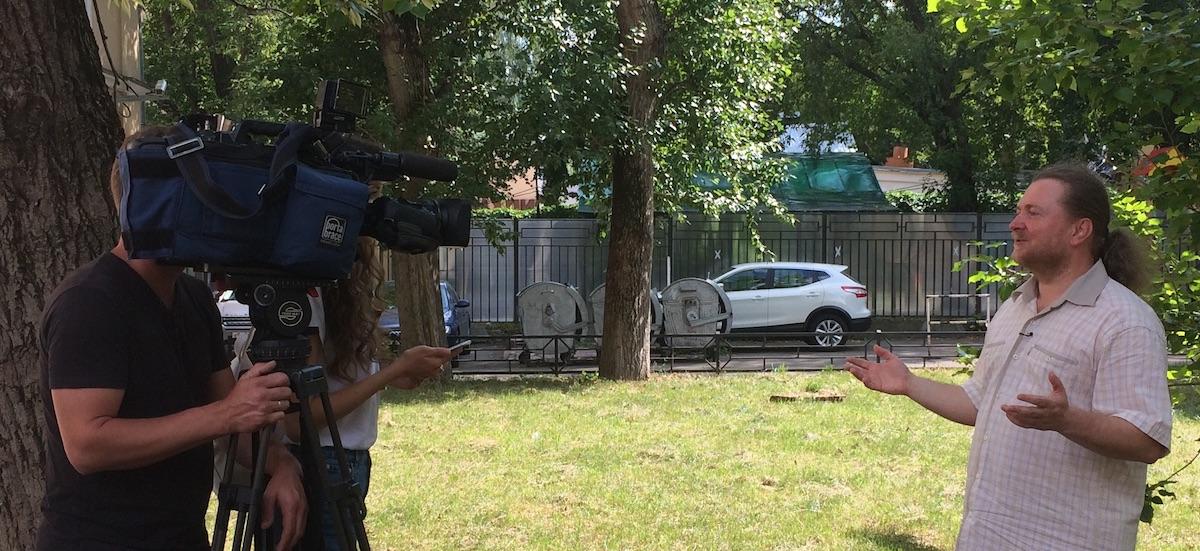 Интервью Кузнецова Артема для ТВЦ